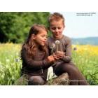 Engeli meriinovillast ja siidist laste pikkade varrukatega särk