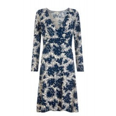MOLINA Floral Print Hemp Dress